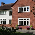 Artisan Timber Alternative flush windows ,Prestatyn