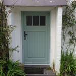 Artisan Timber Entrance Door ,Gwyneddd