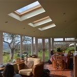 Internal Photograph of a Garden Room in Pentrecelyn, Ruthin, North Wales.