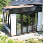 Weru, Green Roof, Garden Room, Ruthin, Denbighshire, North Wales